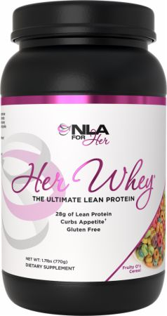 Image of Her Whey Fruity O's Cereal 1.9 Lbs. - Protein Powder NLA for Her