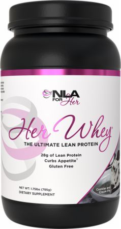 Image of Her Whey Cookies and Cream Pie 1.9 Lbs. - Protein Powder NLA for Her