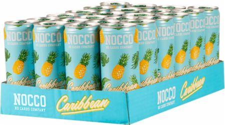Image of NOCCO BCAA RTD 24 x 330ml Cans Caribbean