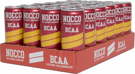Image of NOCCO BCAA RTD 24 x 330ml Cans Orange - Non Carbonated