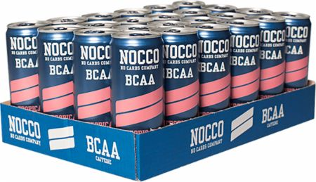 Image of NOCCO BCAA RTD 24 x 330ml Cans Tropical
