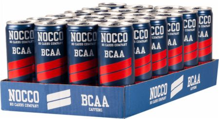 Image of NOCCO BCAA RTD 24 x 330ml Cans Red Berries