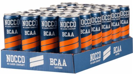 Image of NOCCO BCAA RTD 24 x 330ml Cans Peach