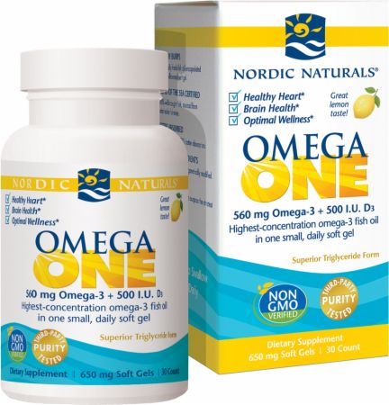 Daily Omega with Vitamin D3