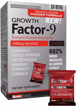 Growth Factor-9 Drink Mix