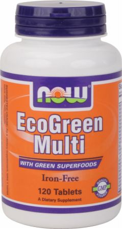 NOW EcoGreen Multi Iron Free