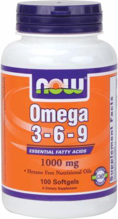 Omega 3-6-9 Liquid Essential Fatty Acids