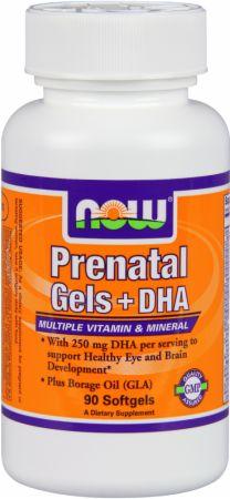 NOW Prenatal Gels + DHA