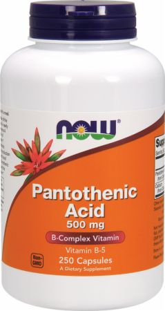 NOW Pantothenic Acid