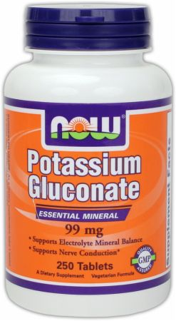 NOW Potassium Gluconate
