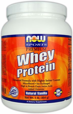 NOW Ion Exchanged Whey Protein