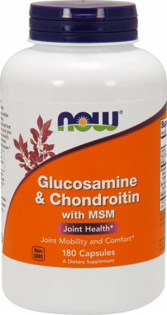 NOW Glucosamine & Chondroitin Plus MSM