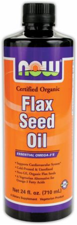 NOW High Lignan Flax Seed Oil