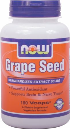 NOW Grape Seed Antioxidant
