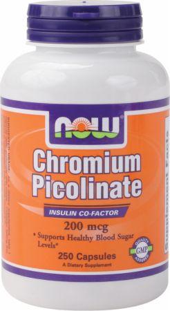 Image of Chromium Picolinate 200mcg/250 Capsules - Minerals NOW