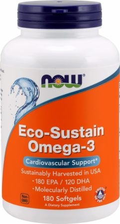 NOW Omega-3 Cholesterol-Free