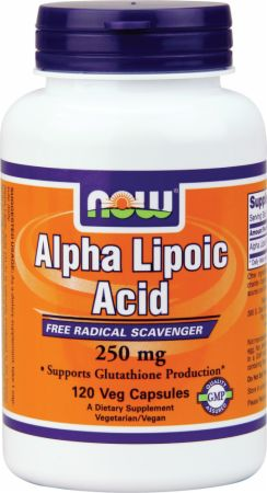 Image of NOW Alpha Lipoic Acid 250 250mg/120 Capsules