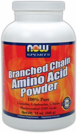 NOW Branched Chain Amino Acid Powder