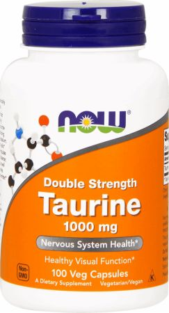 NOW Taurine Double Strength