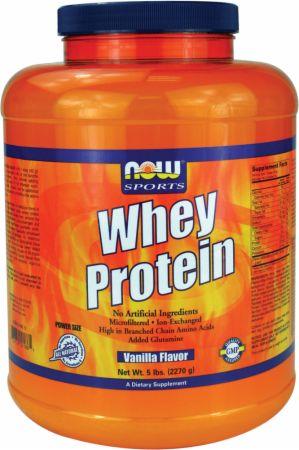Image of Whey Protein Vanilla 6 Lbs. - Protein Powder NOW