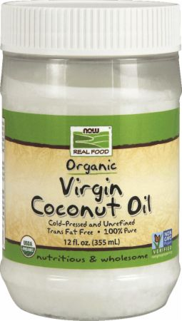 NOW Organic Virgin Coconut Oil