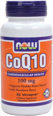 CoQ10 100mg + Hawthorn Berry