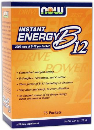 NOW Instant Energy B12