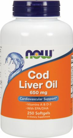 NOW Cod Liver Oil - Double Oil