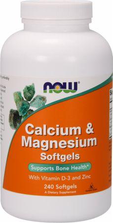 NOW Calcium & Magnesium + D