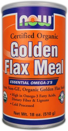 NOW Golden Flax Meal