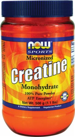 NOW Micronized Creatine Monohydrate
