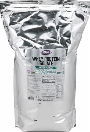 Image of Whey Protein Isolate Natural Unflavored 10 Lbs. - Low Carb Protein NOW