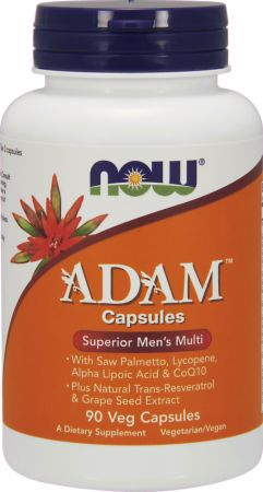 Image of NOW ADAM 90 Veg Capsules