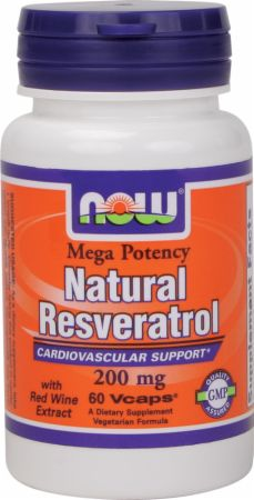 NOW Natural Resveratrol - Mega Potency
