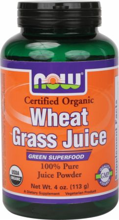 NOW Wheat Grass Juice Powder