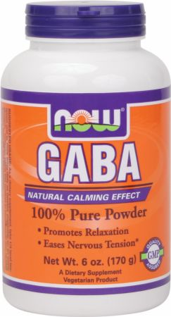 NOW GABA Pure Powder