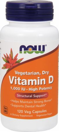NOW Vitamin D - Vegetarian