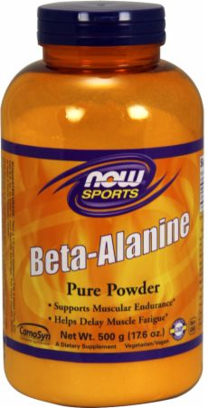 Image of Beta-Alanine Powder Unflavored 500 Grams - Amino Acids & BCAAs NOW