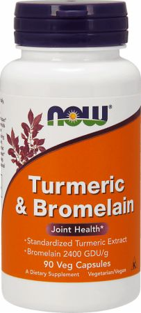 NOW Turmeric & Bromelean