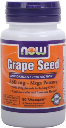 NOW Grape Seed - Mega Potency