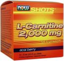 NOW L-Carnitine 2,000 Mg Liquid Shots