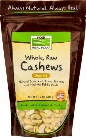 Whole, Raw Cashews