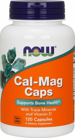 Image of NOW Cal-Mag Caps 120 Capsules