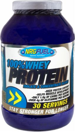 Image of NRGFuel 100% Whey Protein 908 Grams Berry