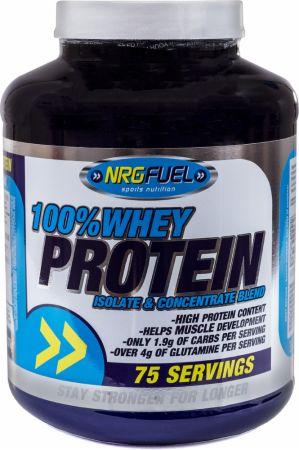 Image of NRGFuel 100% Whey Protein 2.27 Kilograms Banana