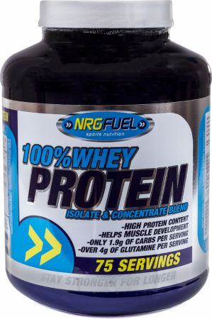 Image of NRGFuel 100% Whey Protein 2.27 Kilograms Chocolate