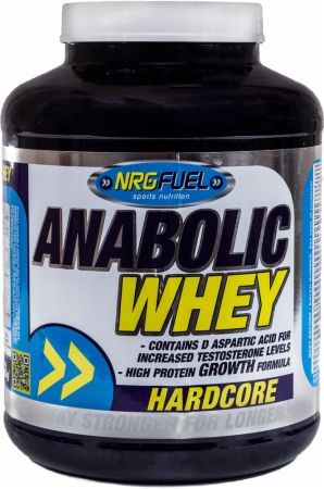 Image of NRGFuel Anabolic Whey 2 Kilograms Vanilla