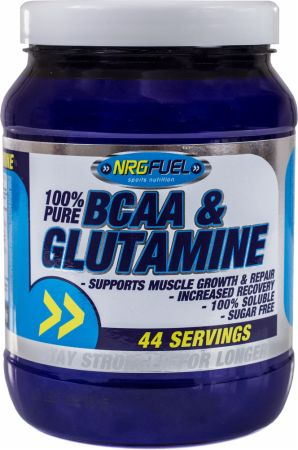 Image of NRGFuel BCAA & Glutamine 500 Grams Cherry