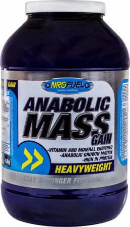 Image of NRGFuel Anabolic Mass Gain 4.5 Kilograms Toffee