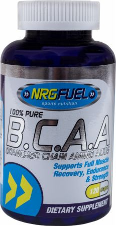 Image of NRGFuel BCAA 120 Capsules